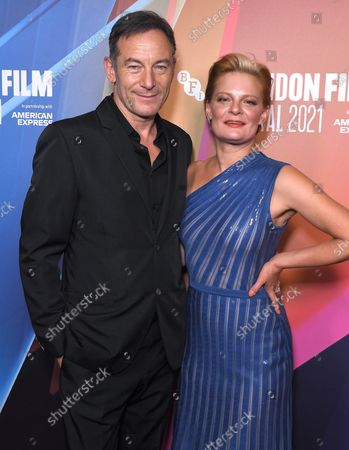 Jason Isaacs and Martha Plimpton