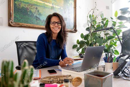 Editorial image of Deputy mayor of Paris Audrey Pulvar photoshoot, Paris, France - 07 Oct 2021