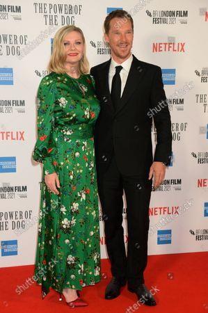 Kirsten Dunst and Benedict Cumberbatch