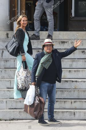"""Al Bano arrives at the TV studios of """"Dancing with the Stars 16"""" with his dancer Oxana Lebedew"""