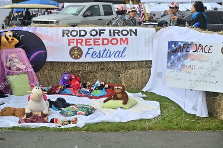 Editorial picture of The Rod of Iron Freedom Festival in Greeley, US - 09 Oct 2021