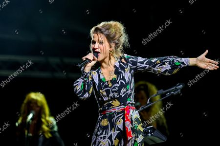 Editorial image of Singer Selah Sue performs during a concert in Marseille, France - 7 Oct 2021