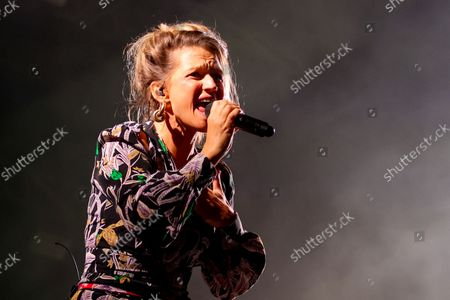 """Stock Picture of Belgian singer-songwriter Selah Sue performs on stage during the 30th edition of the """"Fiesta des Suds"""" music festival in Marseille. Selah Sue has won the Best Female Solo Artist award five times at the Music Industry Awards."""