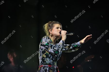 Editorial photo of Singer Selah Sue performs during a concert in Marseille, France - 7 Oct 2021