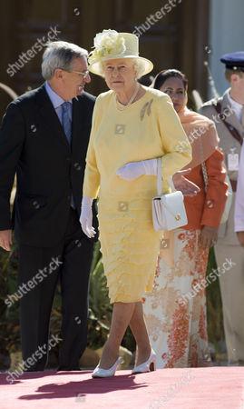 Editorial image of Queen Elizabeth II visit to Oman - 27 Nov 2010
