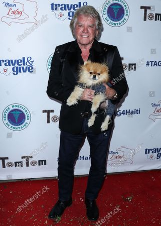 Restaurateur Ken Todd arrives at Travel and GIVE's 4th Annual 'Travel With A Purpose' Fundraiser (Fundraiser to Benefit Teletherapy Program and Communities in Haiti Affected by Earthquake) held at TOM TOM Restaurant and Bar on October 11, 2021 in West Hollywood, Los Angeles, California, United States.