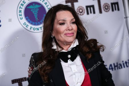 Stock Image of Restaurateur Lisa Vanderpump-Todd arrives at Travel and GIVE's 4th Annual 'Travel With A Purpose' Fundraiser (Fundraiser to Benefit Teletherapy Program and Communities in Haiti Affected by Earthquake) held at TOM TOM Restaurant and Bar on October 11, 2021 in West Hollywood, Los Angeles, California, United States.
