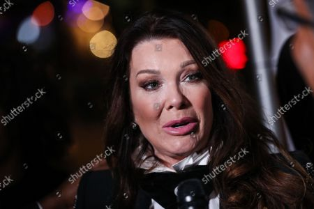 Stock Picture of Restaurateur Lisa Vanderpump-Todd arrives at Travel and GIVE's 4th Annual 'Travel With A Purpose' Fundraiser (Fundraiser to Benefit Teletherapy Program and Communities in Haiti Affected by Earthquake) held at TOM TOM Restaurant and Bar on October 11, 2021 in West Hollywood, Los Angeles, California, United States.