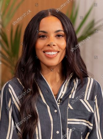 Stock Picture of Rochelle Humes