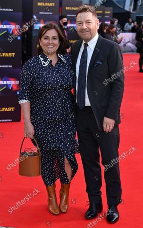 Stock Picture of Kenneth Branagh and Lindsay Brunnock