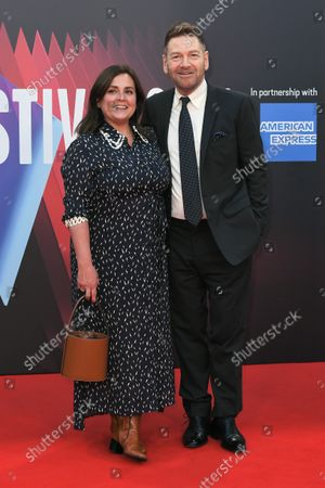 Stock Photo of Director, Kenneth Branagh and Lindsay Brunnock