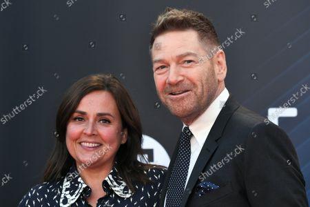 Director, Kenneth Branagh and Lindsay Brunnock