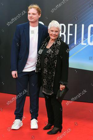 Dame Judi Dench and her Grandson Sam Williams