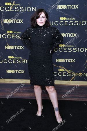 Editorial image of HBO's 'Succession' Season 3 TV show premiere, Arrivals, American Museum of Natural History, New York, USA - 12 Oct 2021