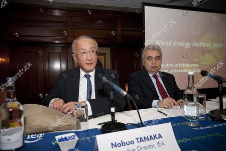 IEA Executive Director Nobuo Tanaka and Fatih Birol, IEA Chief Economist