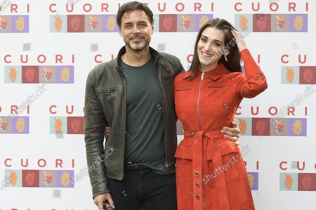 Editorial photo of 'Rai fiction Cuori' photocall, Casa del Cinema, Rome, Italy - 12 Oct 2021