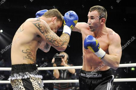 Editorial picture of Sam Couzens vs Artur Hein, Light Heavyweight boxing match, Helsinki, Finland - 27 Nov 2010