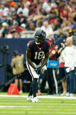 Editorial photo of Patriots Texans Football, Houston, United States - 10 Oct 2021