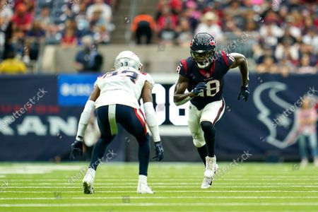 Editorial picture of Patriots Texans Football, Houston, United States - 10 Oct 2021