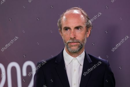 Tim Steed attends the UK premiere of 'The Phantom of the Open' during the BFI London Film Festival at the Royal Festival Hall in London, Britain, 12 October 2021. The British Film Institute festival runs from 06 to 17 October.