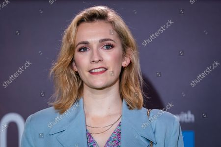 English actress Charlotte Ritchie attends the UK premiere of 'The Phantom of the Open' during the BFI London Film Festival at the Royal Festival Hall in London, Britain, 12 October 2021. The British Film Institute festival runs from 06 to 17 October.
