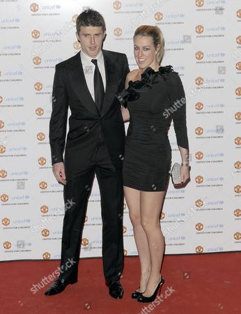 Michael Carrick and Lisa Carrick
