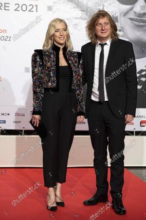 Lea Drucker and Julien Rambaldi