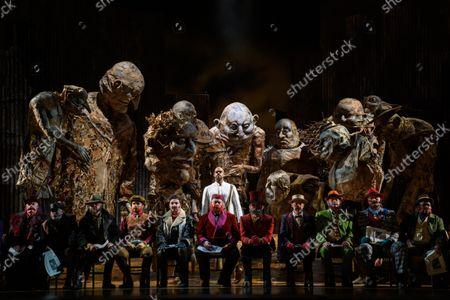Editorial photo of Satyagraha, English National Opera, London Coliseum, London, UK - 12 Oct 2021