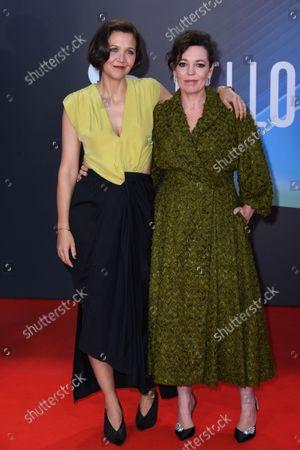 Maggie Gyllenhaal and Olivia Colman