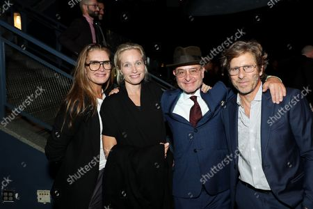 Brooke Shields, Alexis Bloom, Fisher Stevens with guest