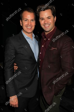 Stock Image of Casey Bloys and Andrew Rannells