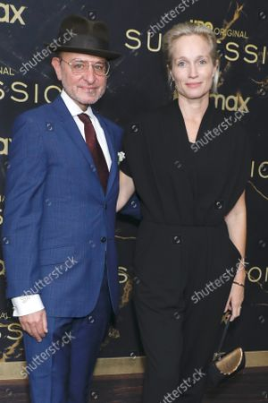 Fisher Stevens and wife Alexis Bloom
