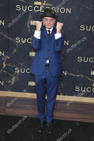 Editorial picture of HBO's 'Succession' Season 3 TV show premiere, Arrivals, New York, USA - 12 Oct 2021