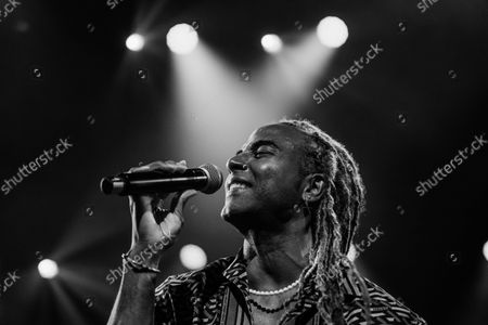 Editorial picture of Yotuel Romero Performs At The 2021 Hispanidad Concert, Madrid, Spain - 12 Oct 2021