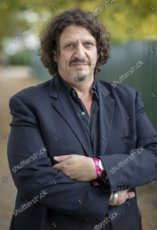 Stock Photo of Journalist and food critic Jay Rayner.