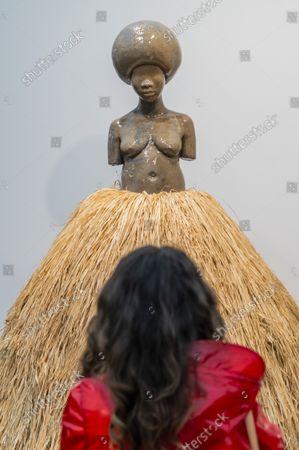 Editorial photo of Frieze Art Fair, Regents Park, London., Regents Park, London, UK - 13 Oct 2021