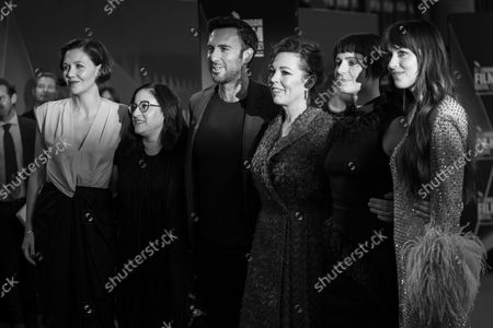 Editorial image of 'The Lost Daughter' BFI London Film Festival, Royal Festival Hall, London, UK - 13 Oct 2021