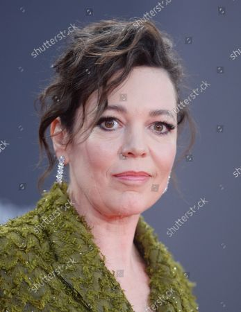 Stock Photo of British actress Olivia Coleman attends the premiere of The Lost Daughter at the 65th BFI London Film Festival on October 13, 2021.