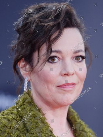 Stock Image of British actress Olivia Coleman attends the premiere of The Lost Daughter at the 65th BFI London Film Festival on October 13, 2021.