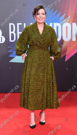Editorial photo of Lost Daughter Premiere, London, England - 13 Oct 2021
