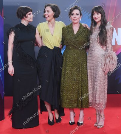 Editorial picture of Lost Daughter Premiere, London, England - 13 Oct 2021