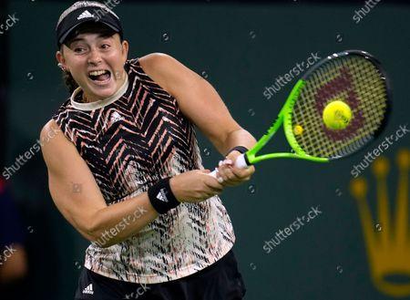 Editorial image of BNP Paribas Open tennis tournament, Indian Wells, USA - 13 Oct 2021