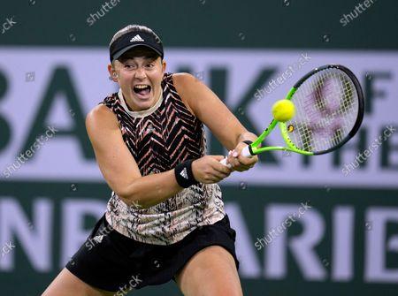 Editorial picture of BNP Paribas Open tennis tournament, Indian Wells, USA - 13 Oct 2021