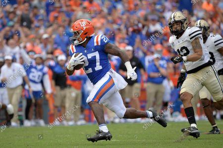 Editorial image of Vanderbilt Florida Football, Gainesville, United States - 09 Oct 2021