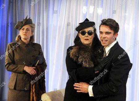 'Les Parents Terribles' - Sylvestre Le Touzel (Leo), Frances Barber (Yvonne) and Tom Byam Shaw (Michael)