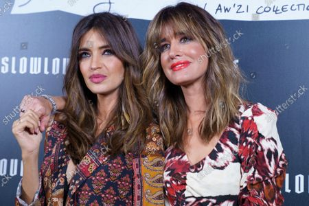 Sara Carbonero and Isabel Jimenez seen at the new collection 'Slow Love: Dancing In The Street'