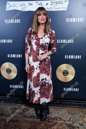 Isabel Jimenez seen at the new collection 'Slow Love: Dancing In The Street'