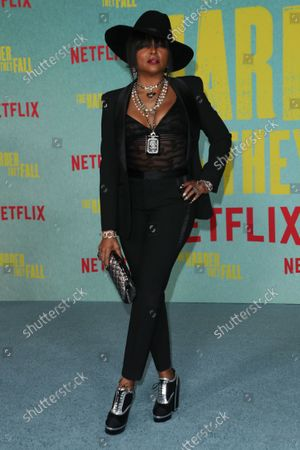 Editorial photo of 'The Harder They Fall' special screening, The Shrine, Los Angeles, California, USA - 13 Oct 2021