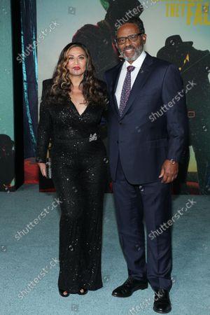 Tina Knowles and Richard Lee Lawson