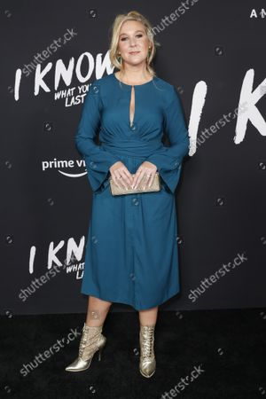 Editorial image of I Know What You Did Last Summer Premiere, Los Angeles, USA - 13 Oct 2021